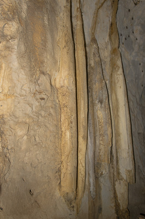 stalagmites: Stalagmites and stalactites
