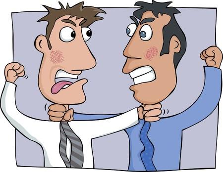 pelea: Argumento