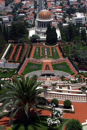 bahai: Bahai temple & gardens, Haifa, Israel