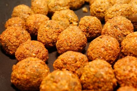 Falafel - middle eastern food. Stock Photo - 1447793