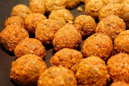 Falafel - middle eastern food. photo