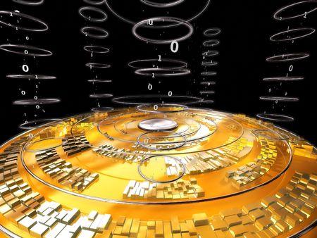 Cyber data disk