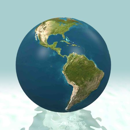 3D world, Latin-america Stock Photo - 6110151