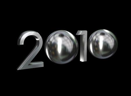 2010 Chrome Stok Fotoğraf