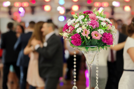 wedding feast: People at a party or wedding reception