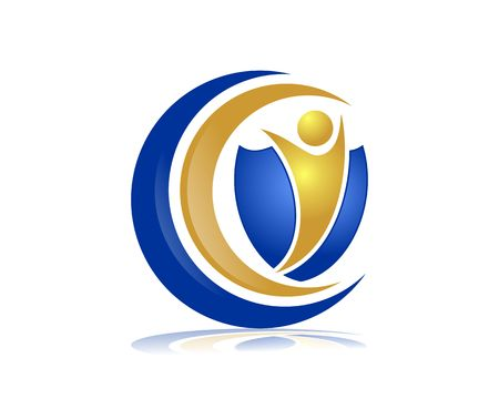 Insurance services logo Illustration