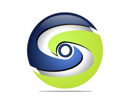 Global yin yang services Illustration