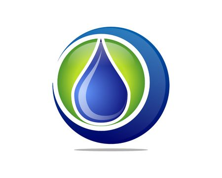 Clear global water icon