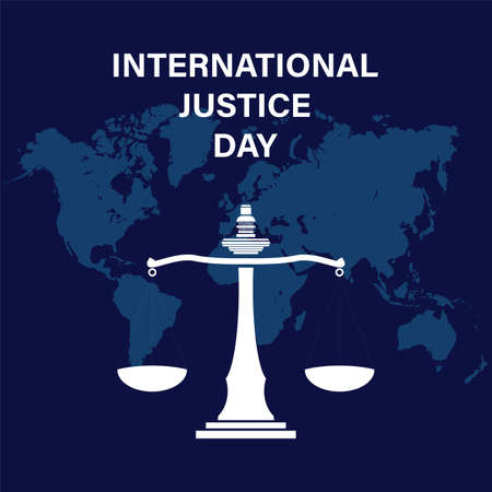 World social justice day vector background