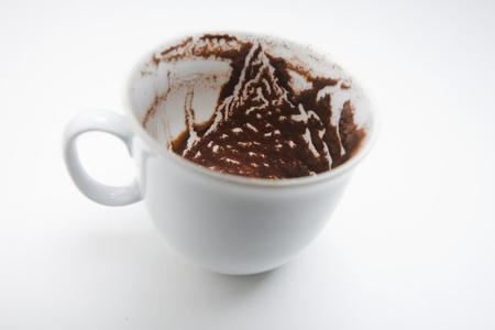 parapsychology: coffee reading