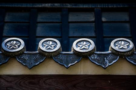 日本の伝統的な Rooftile