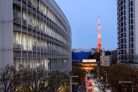 東京タワーとビジネスの構築