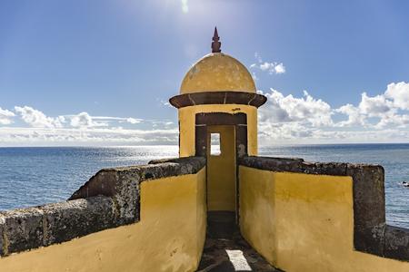 forte: Forte de Sao Tiago - Funchal Madeira