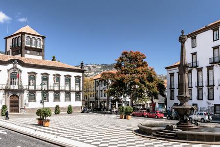 Funchal - Stadhuisplein - Madeira