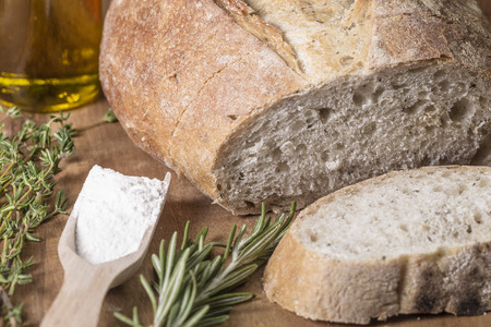 Ligurian farmers bread with rosemary and thyme