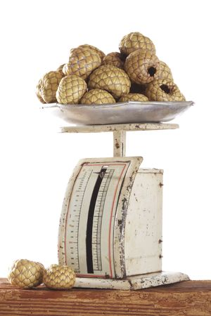 salak: old scale with salak