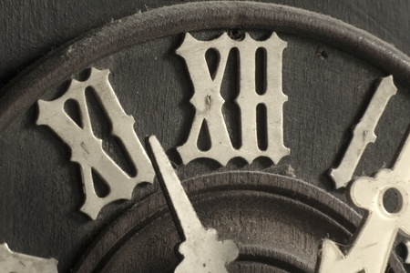 cuckoo: Clock face from a old cuckoo clock