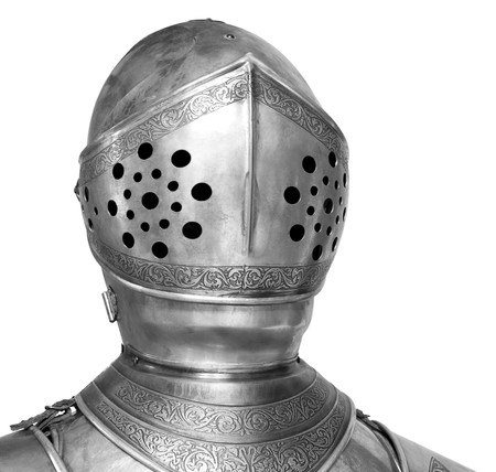 helmet of knight armor suit,