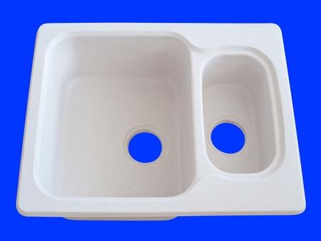 sink hole: a duplex acryl kitchen sink