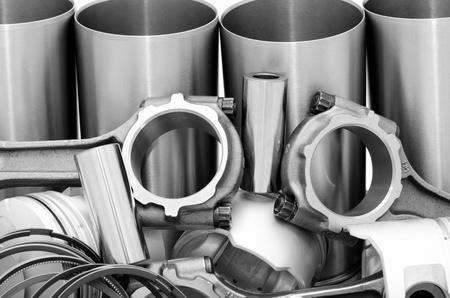 실린더: 자동차 부품 - 디젤 엔진의 세부 사항