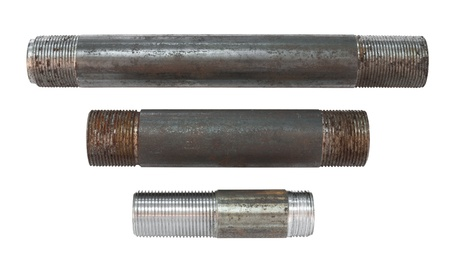 caliber: metal pipe unions with external thread, of different caliber