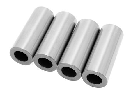 four new piston pins, details of anl auto engine Stock Photo - 11144984