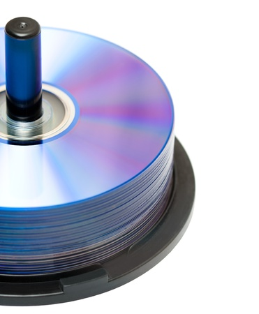 recordable: a pack of new recordable DVD discs