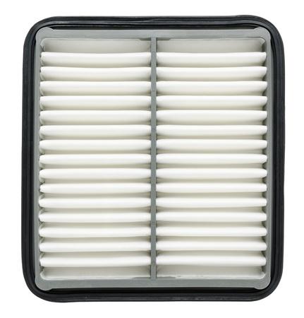 air cleaner: un coche nuevo filtro de aire, aislado m�s de blanco