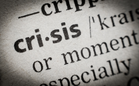 meaning: the word  crisis  in English glossary, super macro