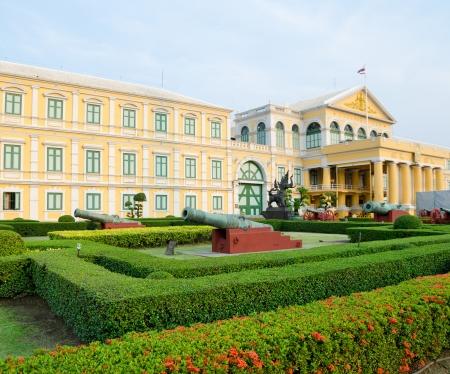BANGKOK, THAILAND - FEBRUARY 17  The building of the Ministry of Defence of Thailand, February 17, 2013, Bangkok, Thailand