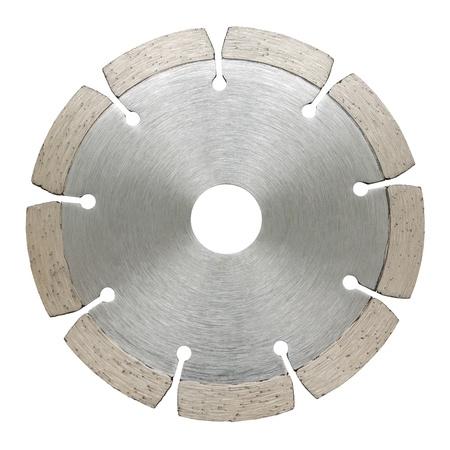 segmented: cutoff segmented wheel, isolated over white background