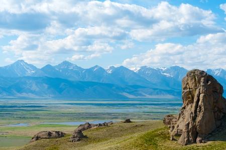 nicknamed: rocks at Suvo village in Barguzin valley at Baikal are nicknamed as Saxon castle