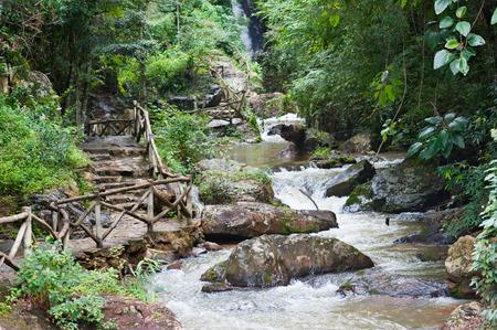 waterfall in the city: Datanla waterfall near Dalat (5 km away from the city centre), Vietnam
