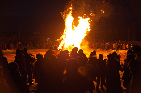 rite: Dugzhuuba - the rite of cleansing. People wipe themselves at home with dough as if they gather all evil and then burn it two days before New Year at a datsan yard.
