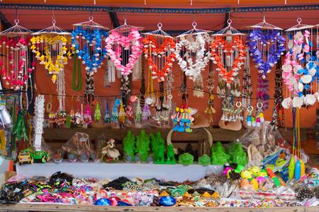 trifles: wide choice of various souvenirs at sea shore, Vung Tau, Vietnam