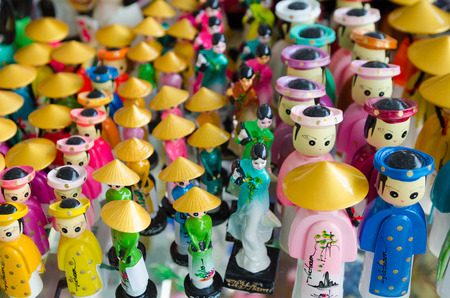 souvenir: a lot of Vietnam souvenir dolls for sale