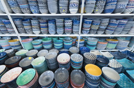 lots of various bowls and plates for sale in Malaysia