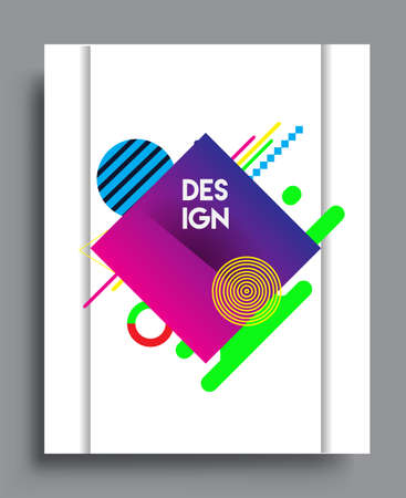 Abstract geometric pattern design and background. Vector templates for modern design, cover, template, decorated, brochure, flyer.