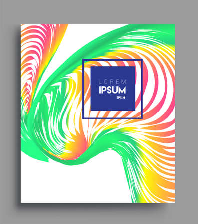 Abstract geometric line pattern background for business brochure cover design. colorful, Applicable for placards, brochures, posters, covers and banners. Vector Design