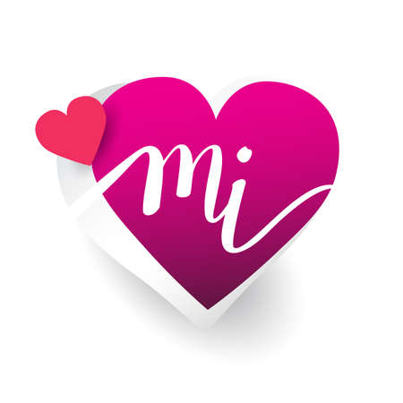 Letter M Love Stock Photos And Images 123rf
