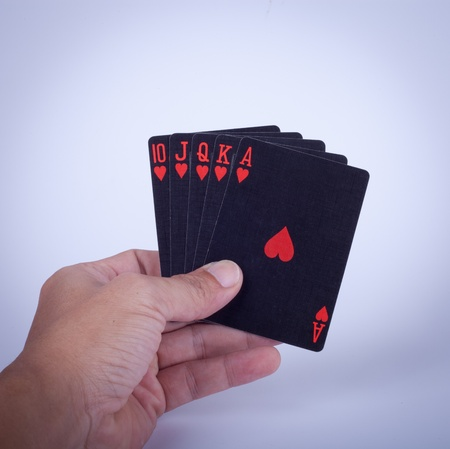 Poker black Stock Photo - 11882972