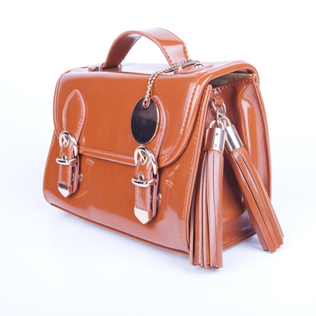 High Class Womens Leather Hand Bag Stock Photo - 15053159