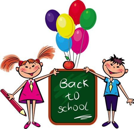 ni�os saliendo de la escuela: Regreso a la escuela