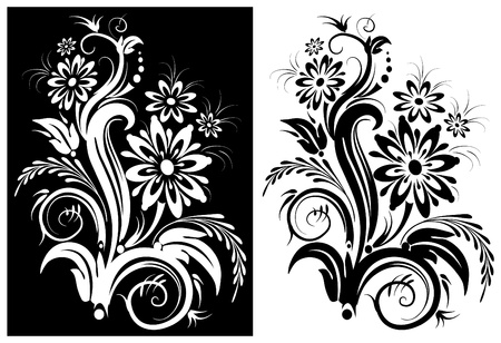 Stylized flower Stock Vector - 9626445