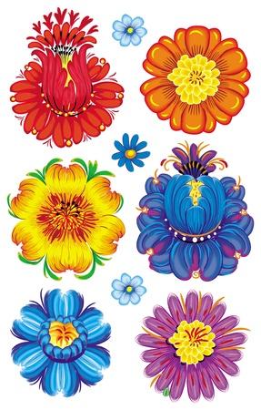Illustration of flowers Stock Vector - 9626524