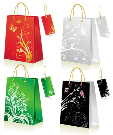 elation: Set of shopping bag