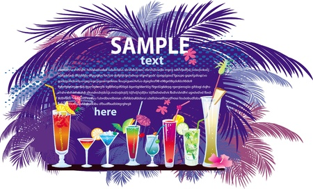 cocktail Stock Vector - 9668938