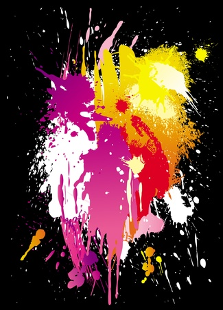 Vector colorful grunge backgrounds Stock Vector - 9668973