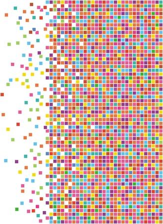 vector illustration of mosaic background
