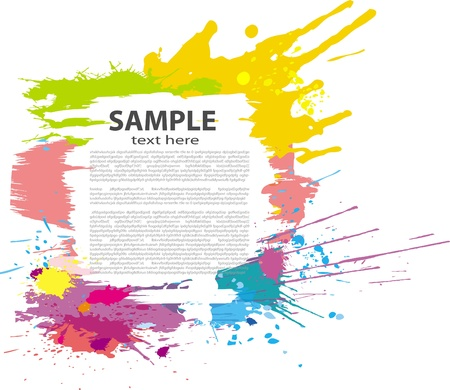 Colorful grunge banner Stock Vector - 9716609